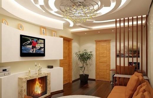 На фото представлен интерьер квартиры с небольшой площадью.