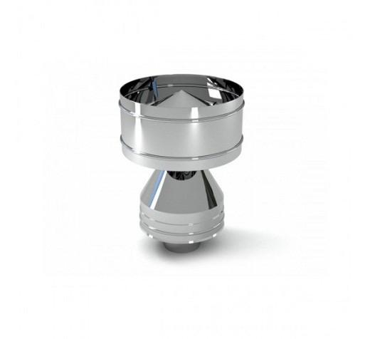 На фото представлен дефлектор, имеющий стандартную конструкцию