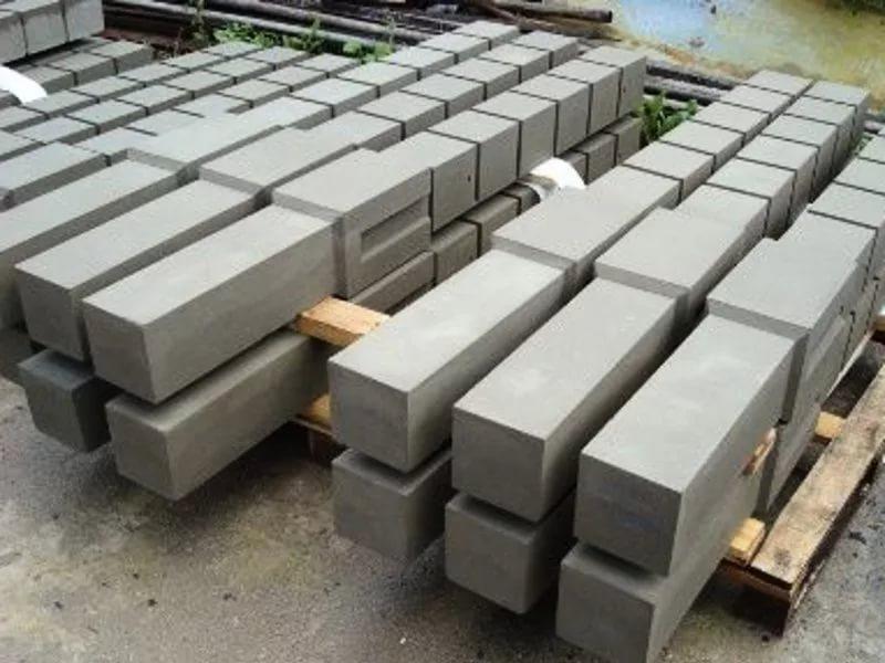 Основание забора - колонны из качественных материалов